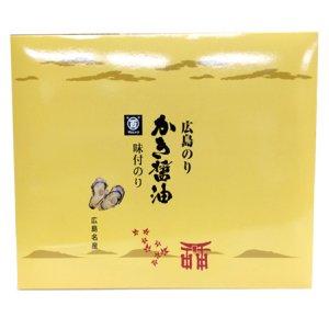 画像2: 広島かき醤油海苔 味付け海苔 角8本
