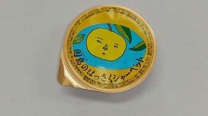 画像3: 「因島 はっさくシャーベット 12個入 果肉入 柑橘 爽やかスイーツ 冷凍ゼリー はっさくゼリー    同梱OK!!